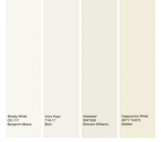Alabaster Sherwin Williams Is What Color In Behr Paint