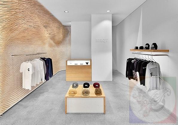 دکوراسیون داخلی مغازه ، دکوراسیون داخلی چوبی ، چیدمان در دکوراسیون داخلی ،