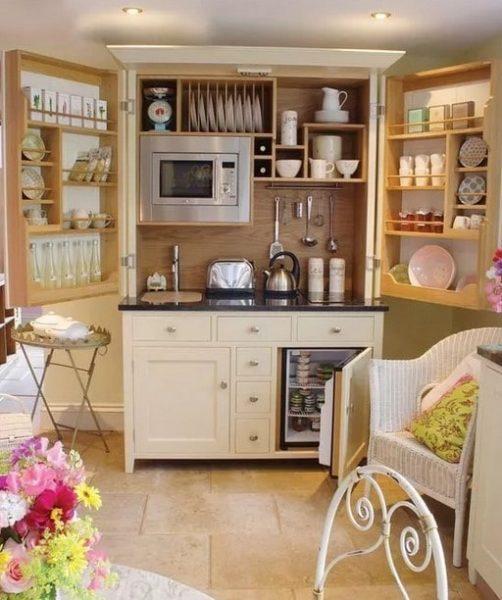 آشپزخانه برای آپارتمان های کوچک