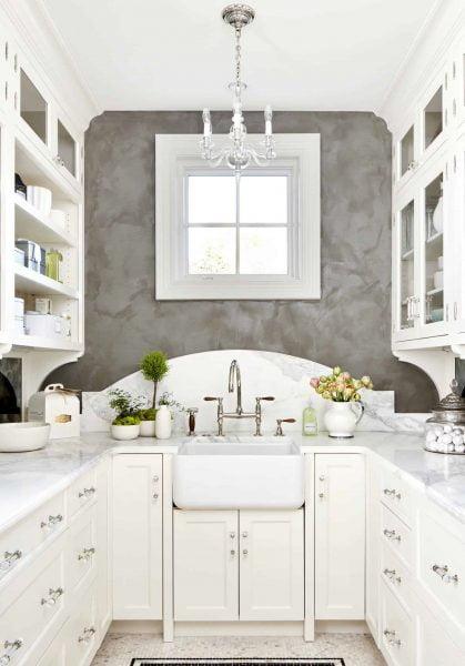 آشپزخانه رنگ روشن