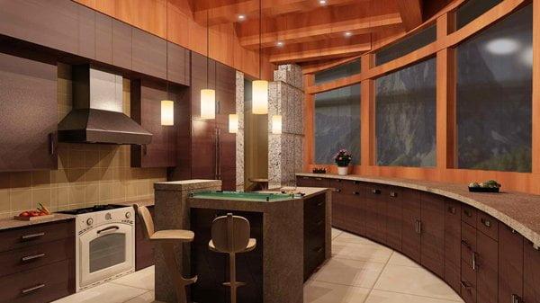 آشپزخانه مدل کوه