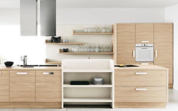آشپزخانه چوبی مگ