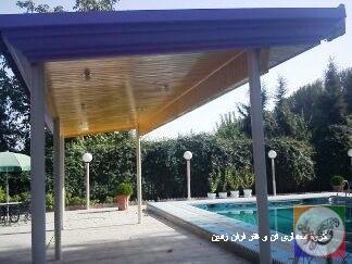 سقف لمبه چوبی