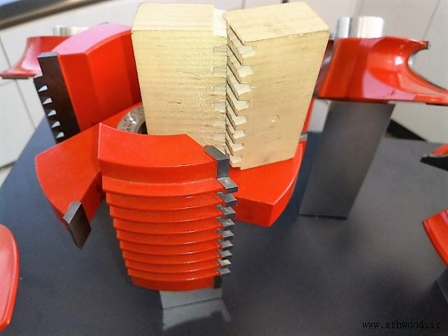 اتصال فینگر جوینت برای ساخت صفحات و پانل های فینگر جوینت