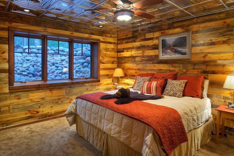اتاق تمام چوب