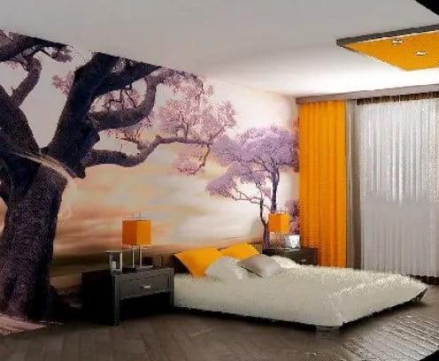 اتاق خواب آسیایی