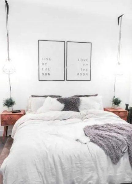 اتاق خواب آپارتمان برای زوج ها