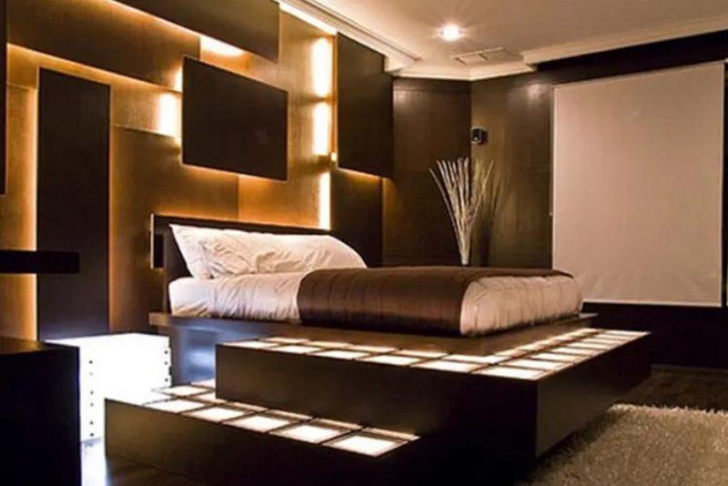 اتاق خواب تم سیاه