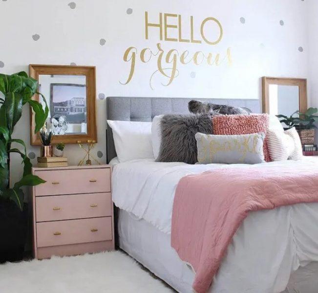 اتاق خواب داخلی دختران نوجوان