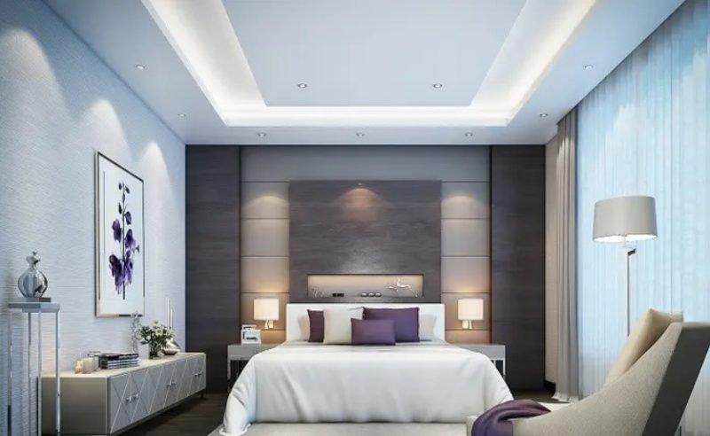 اتاق خواب معاصر