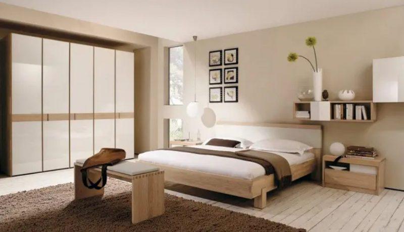 اتاق خواب کره ای طراحی داخلی