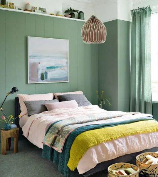اتاق خواب کوچک برای زوج ها