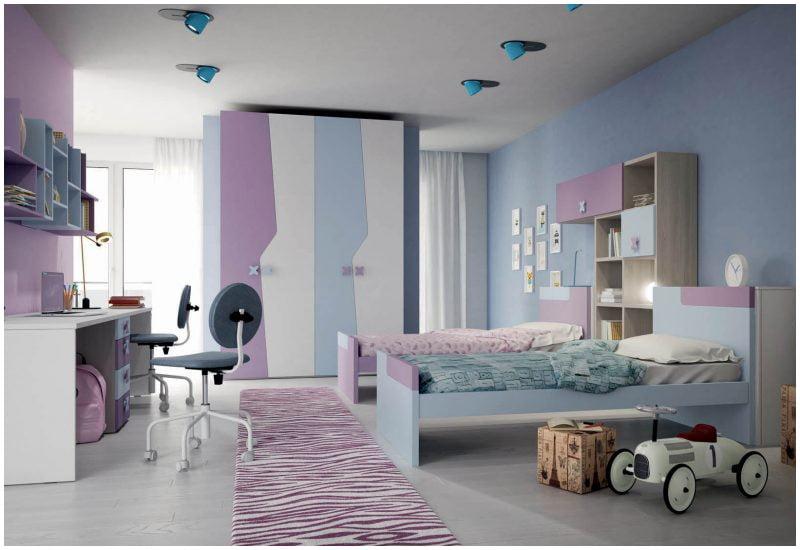 اتاق دخترانه زیبا