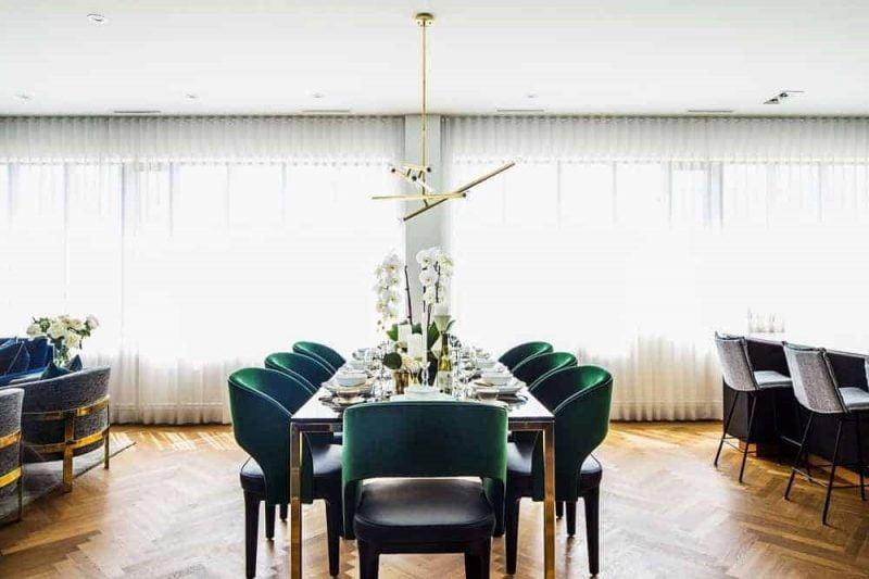 اتاق ناهار خوری مدرن