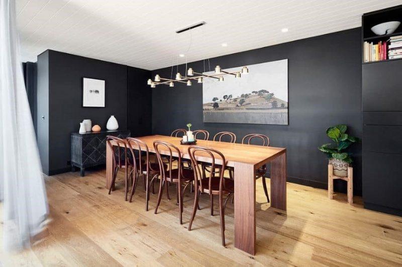 اتاق ناهار خوری چوبی