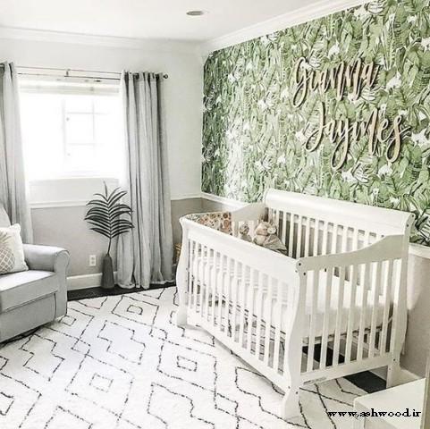25 اتاق کودک روشن با تمِ گرمسیری