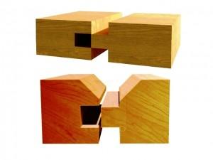 لمبه و اتصالات چوبی در دکوراسیون داخلی