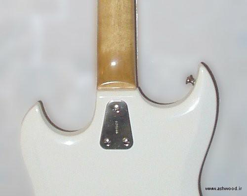 مونتاژ سه پیچ کمتر با صفحه ، در گیتار هاگستروم III