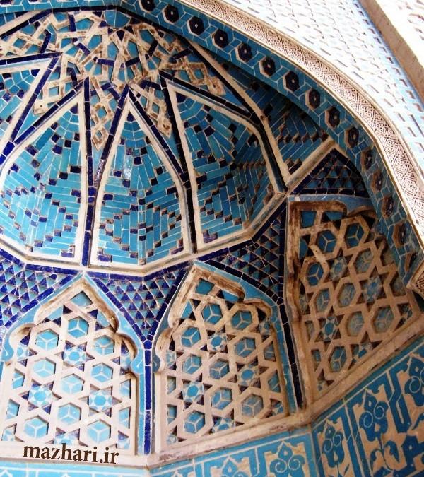 مسجد جامع و آرامگاه شيخ عبدالصمد در نطنز – اصفهان