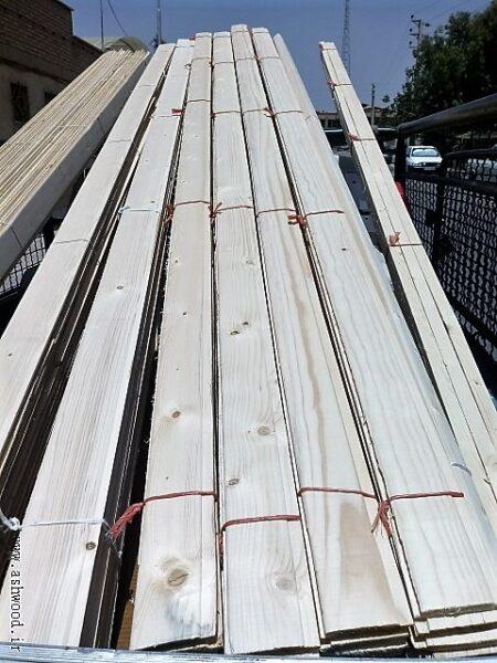 فروش انواع لمبه چوب کاج روسی و انواع چوب چهار تراش روسی