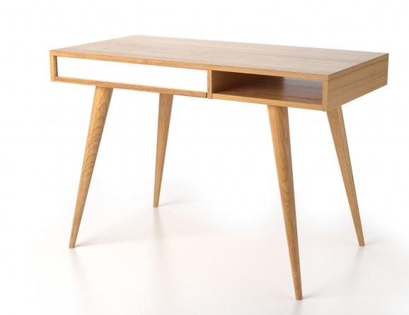 میز تحریر چوب و ام دی اف ساده و ارزان قیمت