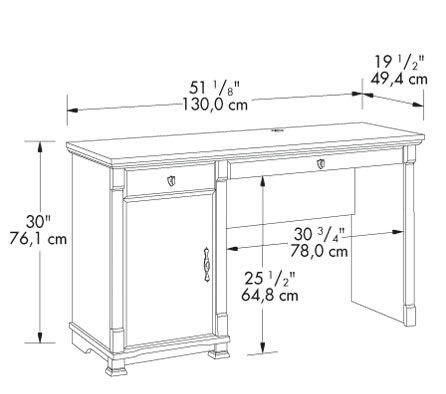 استاندارد میز تحریر