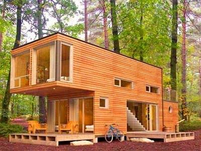 استحکام خانه چوبی