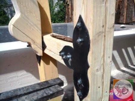 ساخت آلاچیق با چوب کاج اروپایی ، آلاچیق ترموود ، آلاچیق مقاوم در برابر رطوبت