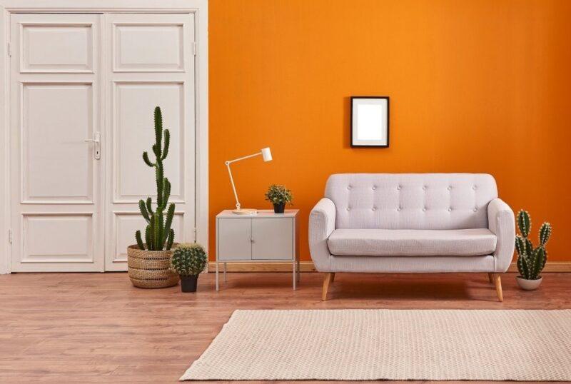 استفاده از رنگ های شاد برای طراحی خانه ای شاد