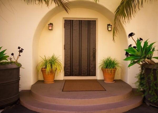 استفاده از فلز ذوب شده برای درب