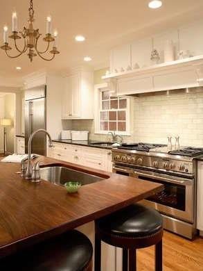 استفاده از چوب گردو برای میز آشپزخانه