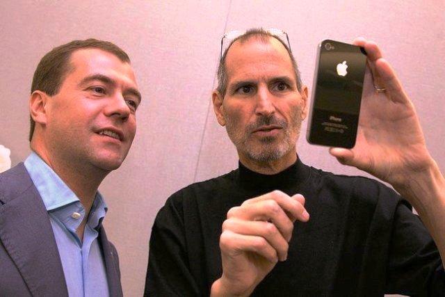 استیو جابز، مدیر عامل وقت شرکت اپل