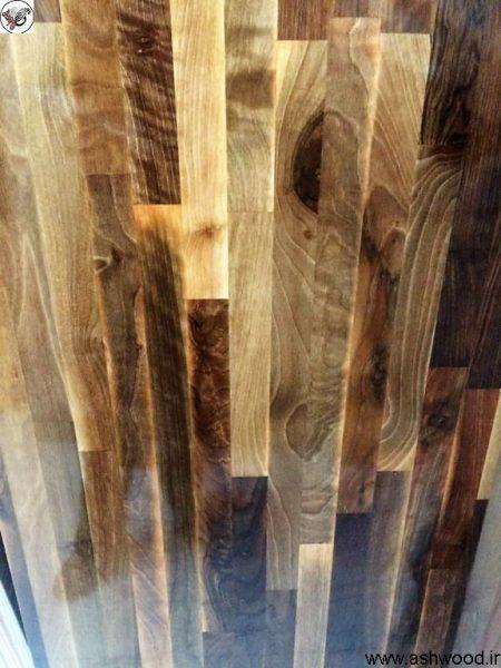 صفحه چوب فینگر جوینت چوب گردو