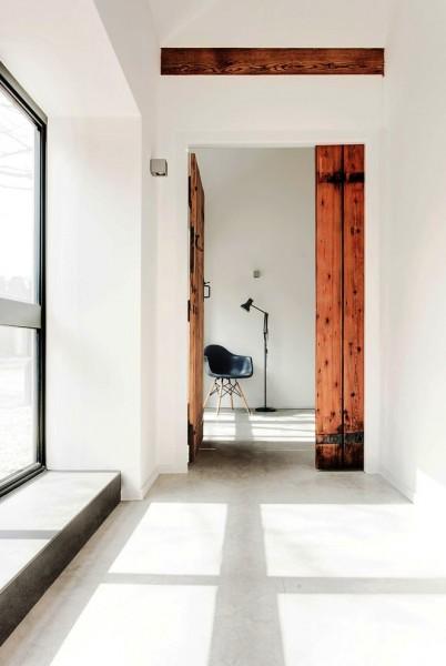 الوار و تخته به سبک روستیک در دکوراسیون داخلی