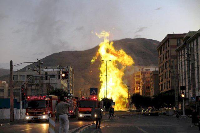 انفجار شهران ، اخبار حادثه شهران