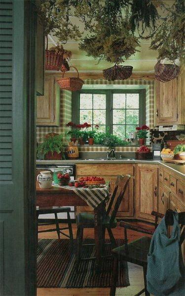انواع آشپزخانه چوبی