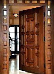 راهنمای تعویض درب جلو, درب ورودی چوبی