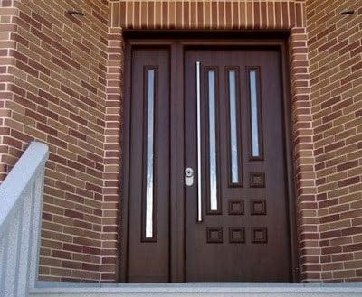 انواع درب چوبی مدرن