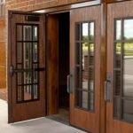انواع درب چوبی
