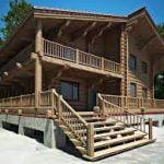 انواع ساختمان های چوبی