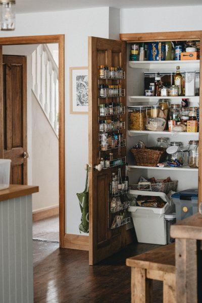 انواع قفسه بندی چوبی