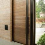 انواع مختلف درب چوبی