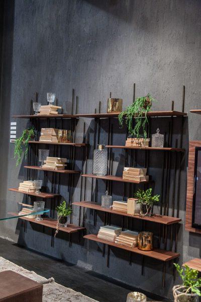انواع مختلف قفسه دیواری چوبی