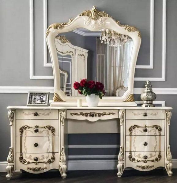 انواع میز آرایش در اتاق های مختلف