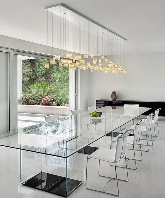 میز غذاخوری منحصر به فرد برای ساختن فضایی دیدنی