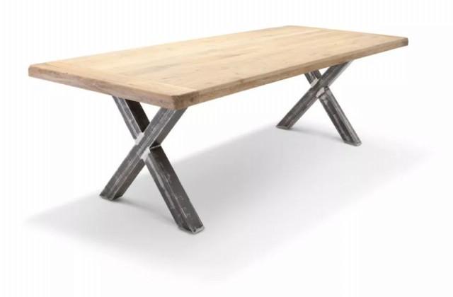 پایه میز ناهار خوری متقاطع