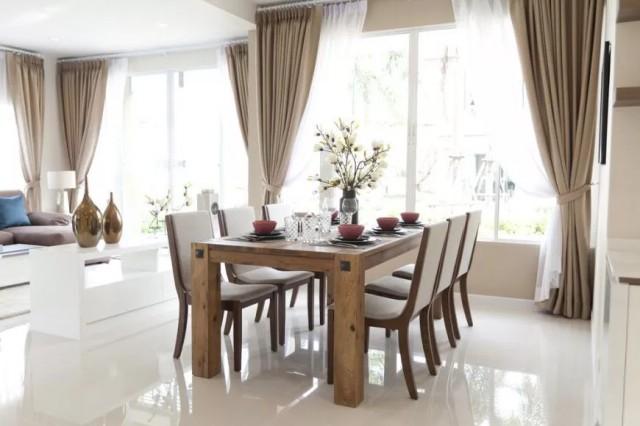 میز ناهار خوری با 4 پایه ساده