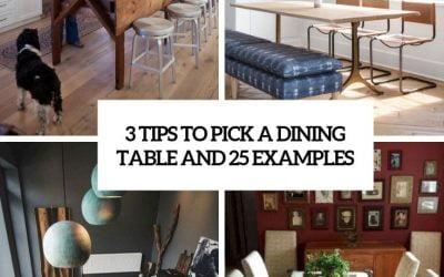 3 نکته برای انتخاب میز ناهار خوری و 25 نمونه برای آشنایی بیشتر