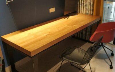 نوع میز : میز کار دو نفره