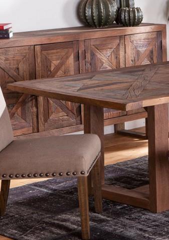 میز ناهارخوری چوبی و میز کنسول